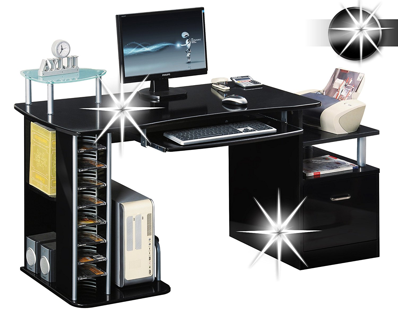 Gamer Schreibtisch Und Kabelmanagement