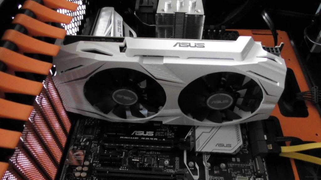 Asus Dual-GTX1060-O6G Grafikkarte