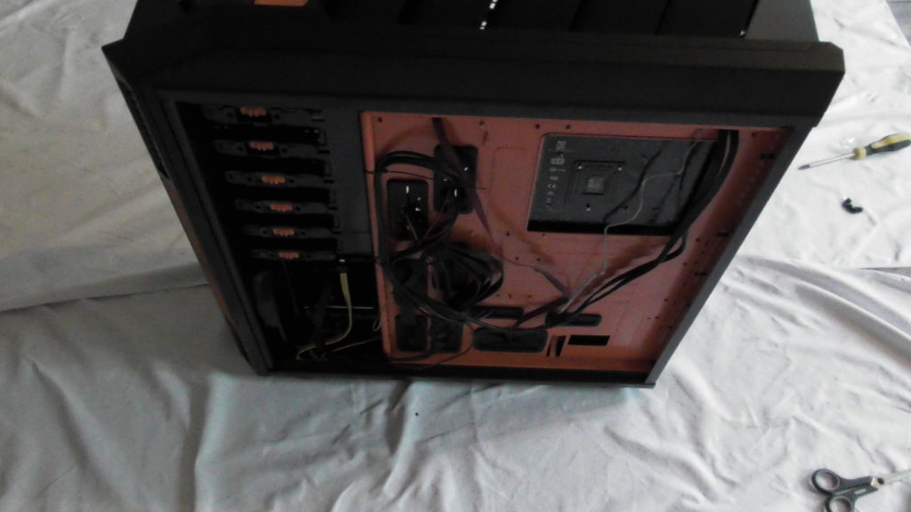 Kabel an Ort und Stelle, Gaming Computer Fertig