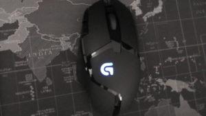 Logitech G402 Gamer Maus